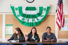 Image of 4H student judges